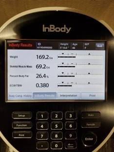 initial measurement 12/7/18